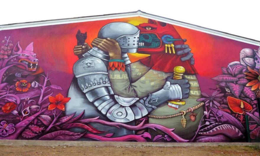 Presentación del libro Muros Somos: Los nuevos muralistas mexicanos ???
