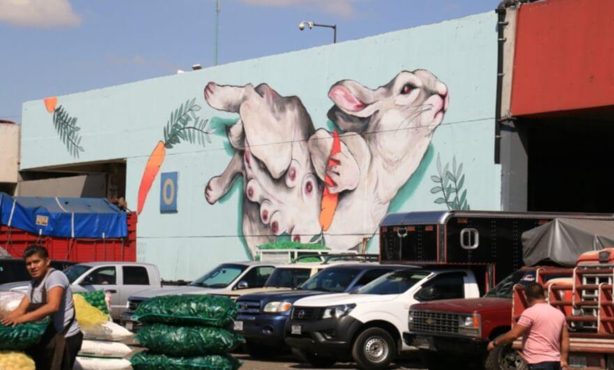 La Central de Abastos de la Ciudad de México celebra 35 años con iniciativa de arte urbano