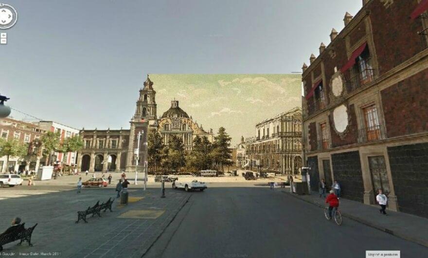 Ciudad de México del siglo XIX a través de Google Street View