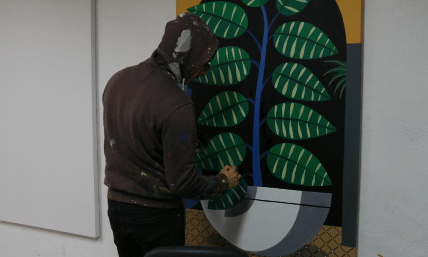Agostino Iacurci inaugura Trompe-l'oeil en el Gallery Weekend CDMX