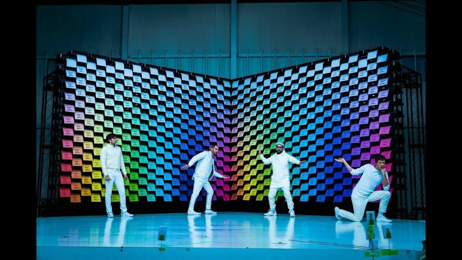 OK Go estrena video que sincroniza 567 impresoras con la música