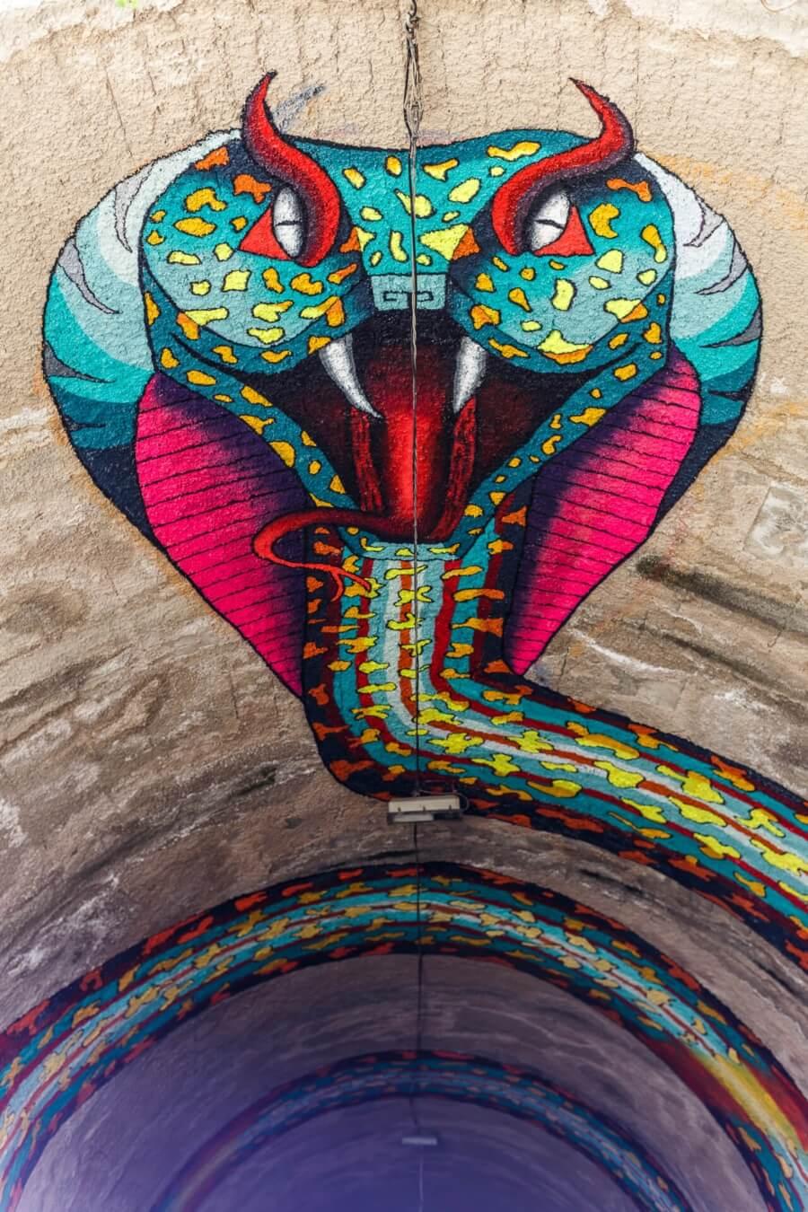 Serpiente en Tunel por Spaik 2