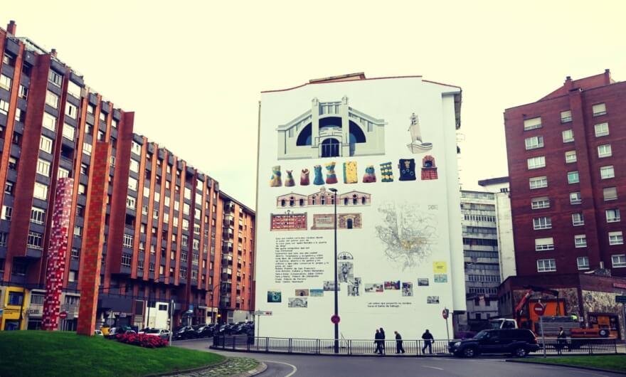 Daniel Muñoz hace residencia en Festival Asalto y crea mural con la comunidad