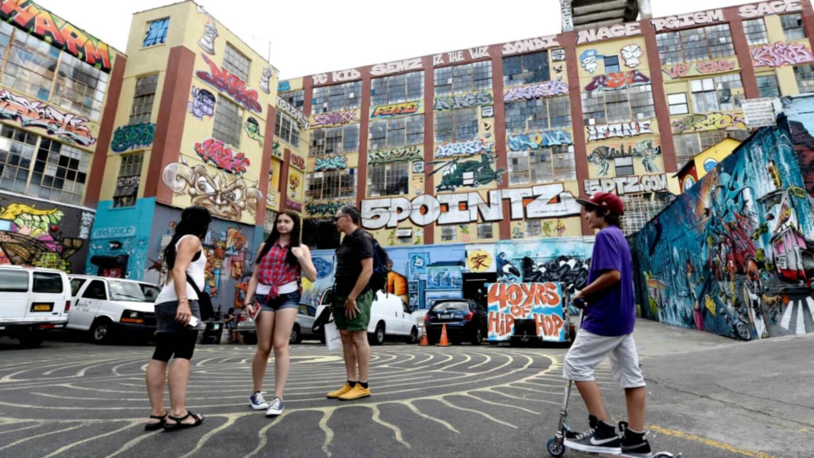 5Pointz gana el primer caso que protege al graffiti por la ley federal