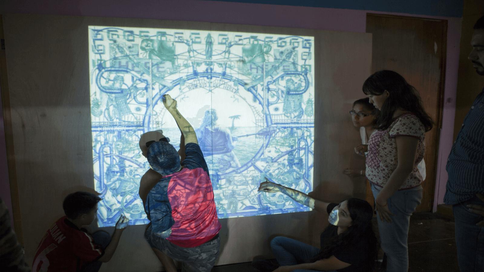 Murales interactivos: una iniciativa para generar comunidad en la CDMX