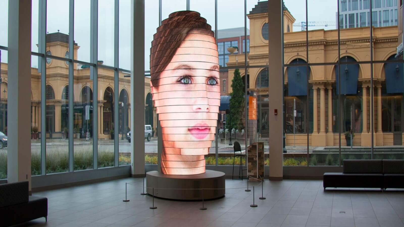 Instalación artística convierte las selfie en una gran escultura ?