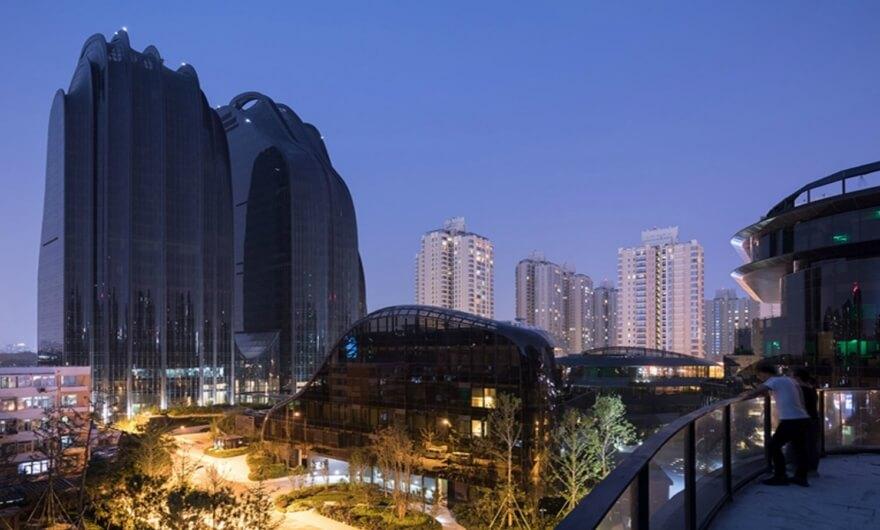 Increíble serie fotográfica sobre proyecto arquitectónico en China
