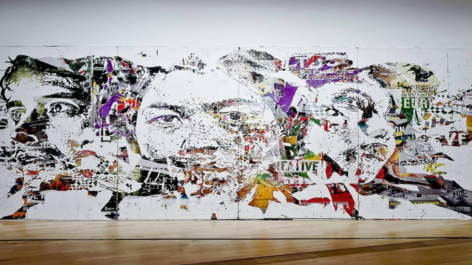 Vhils, Pantone, Futura, Banksy y más de los grandes en Singapur