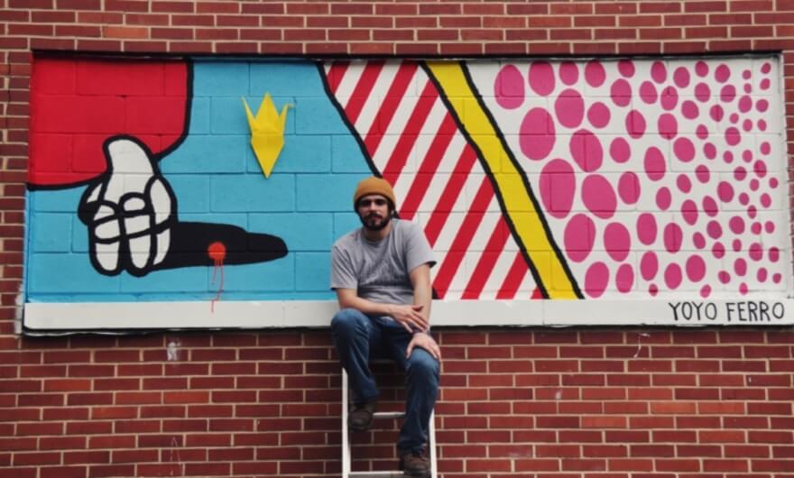 Living Walls ya tiene su primer mural del año