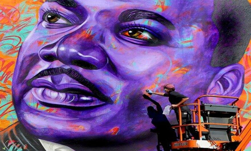 Celebra mundo artístico los 89 años del nacimiento de Luther King