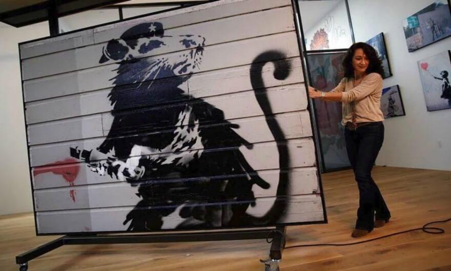 Banksy: de la calle a la galería