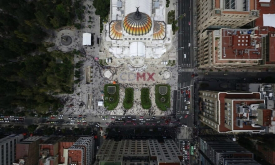 Del cielo a la urbe: Santiago Arau Pontones