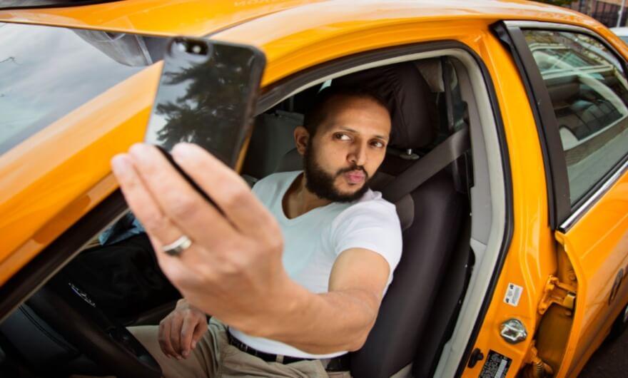 El conductor de Uber que lee tú pensamiento