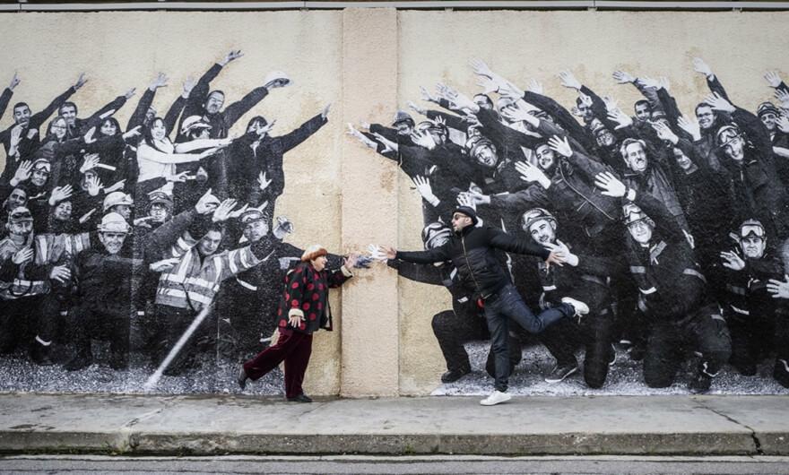 JR y Agnès Varda tras «Óscar»