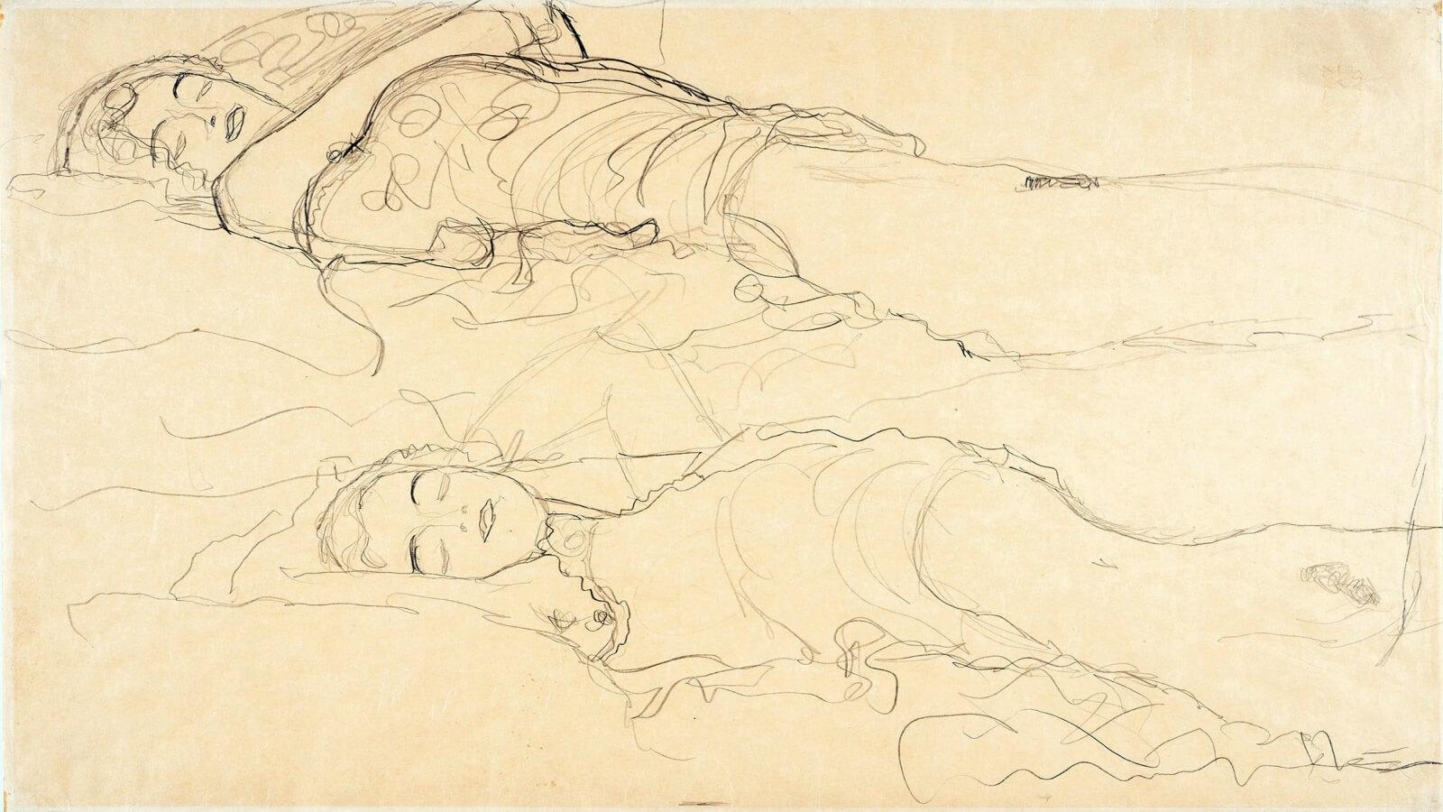 Encuentran dibujo perdido de Klimt