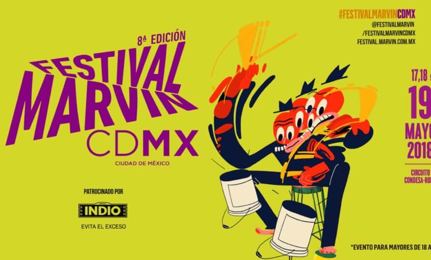 ¿Ya viste el lineup del Festival Marvin?