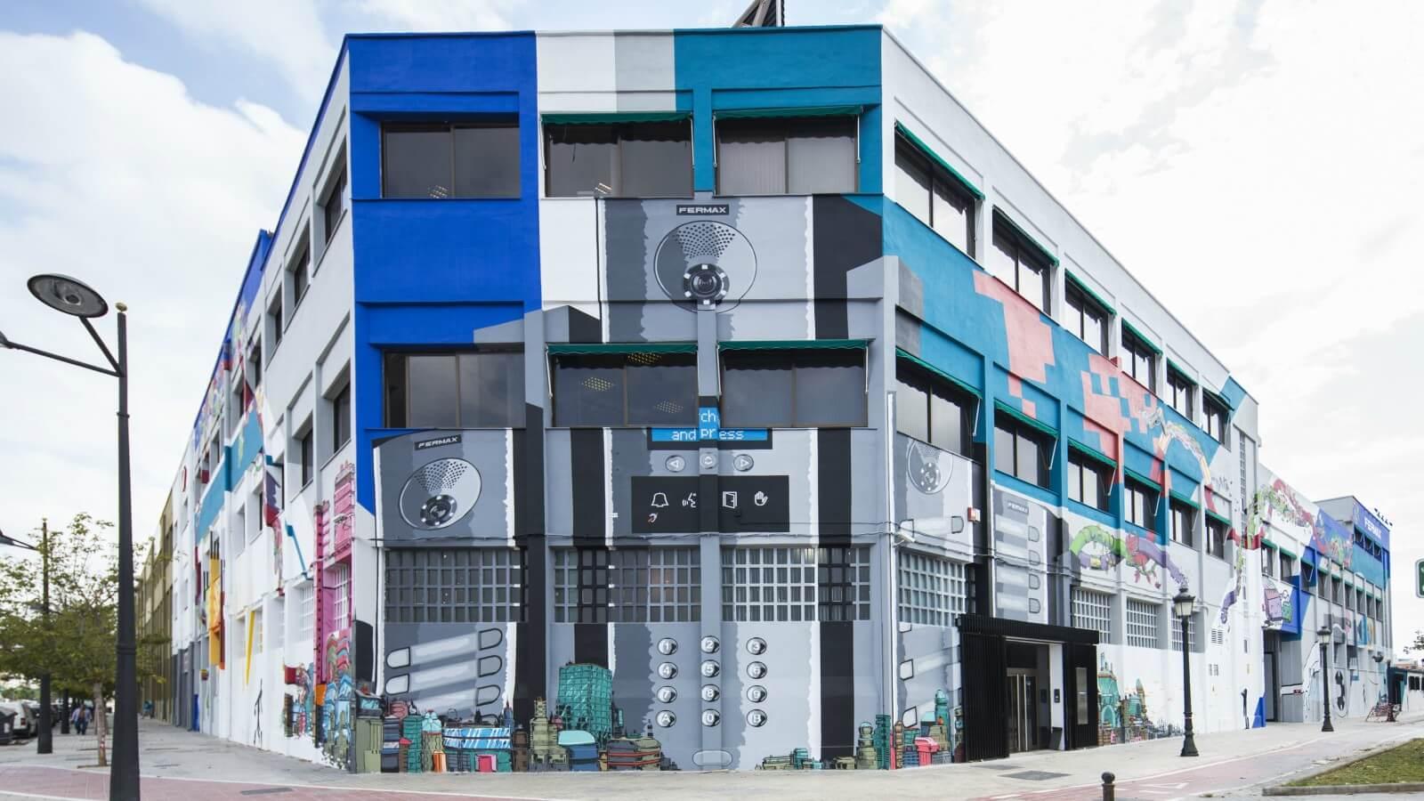 Participa en el 2° Concurso Internacional de Arte Urbano de FERMAX