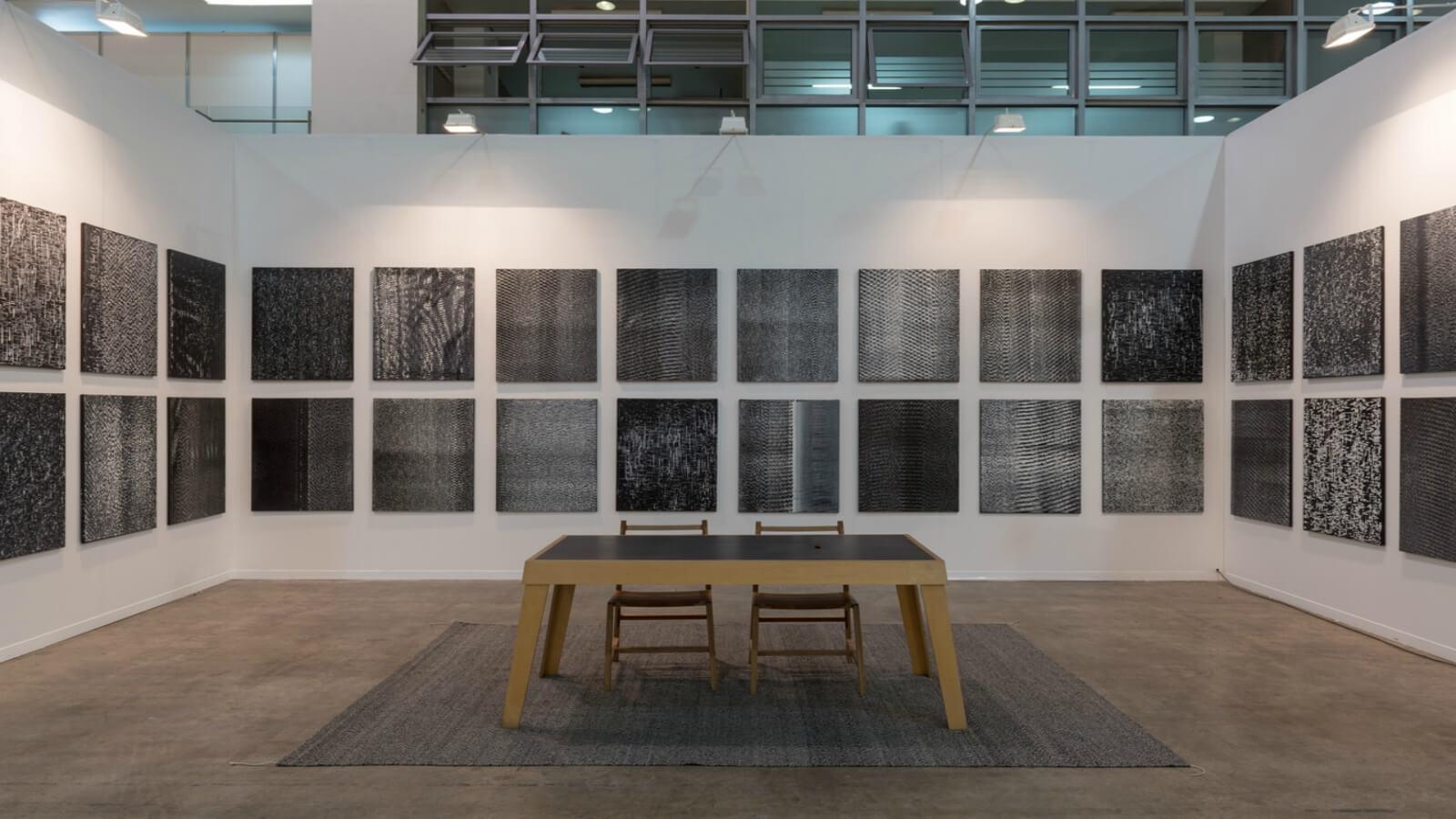 Noise Paitings: la última experimentación de Emilio Chapela