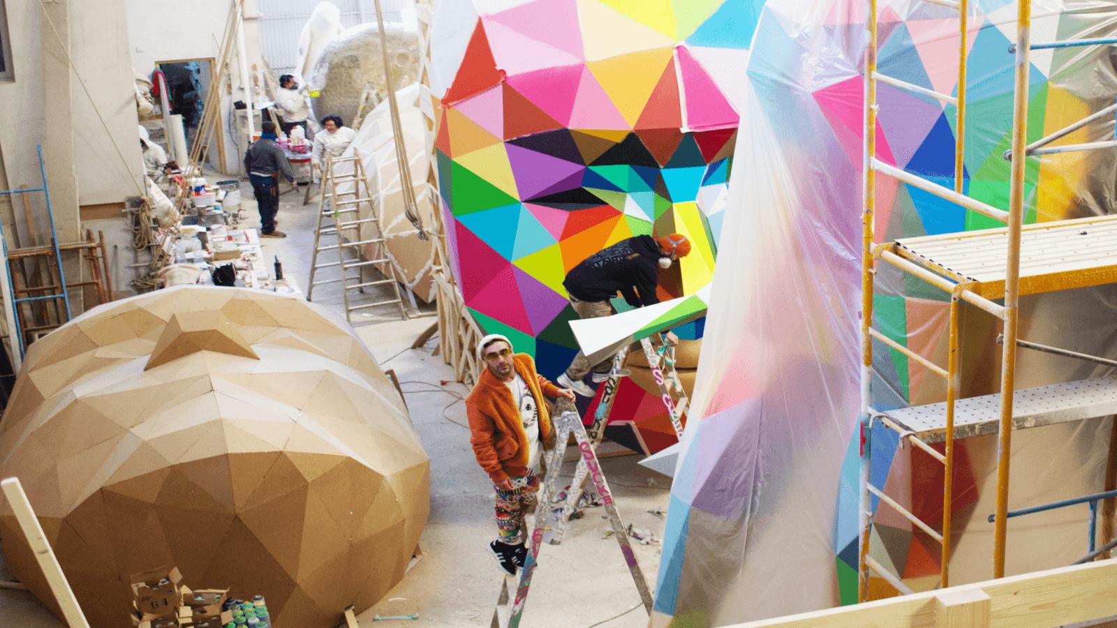 Okuda será el primer artista urbano en crear la Falla Mayor ?