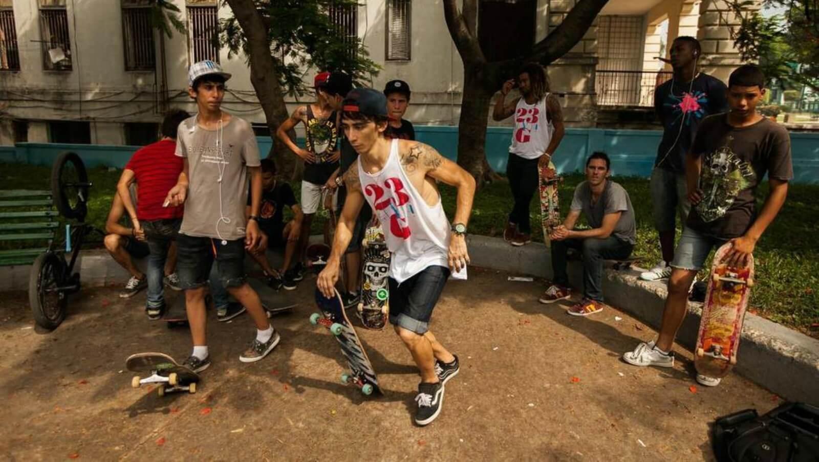 «Havana Skate Days» el documental de los skaters cubanos