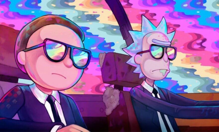 Rick y Morty viajan junto a Run The Jewels en su nuevo video ?