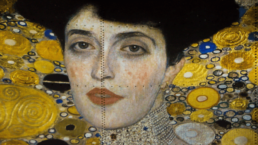 Gustav Klimt sobre gigantescas proyecciones