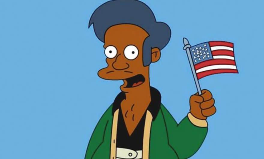 Los Simpsons responden a la controversia racial de Apu