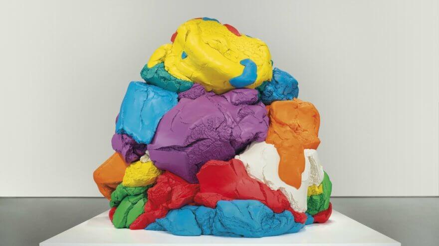 «Plastilina» gigante de de Jeff Koons en $20 millones de dólares