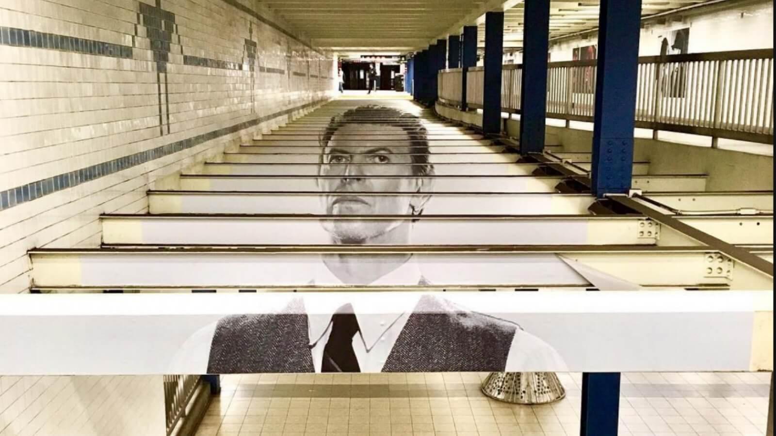El Metro de NY se llena de Bowie