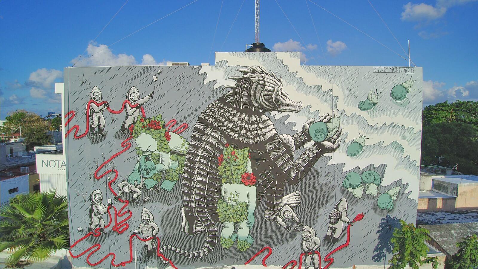Casa de Diseño Nawala y su iniciativa de arte urbano en Cancún