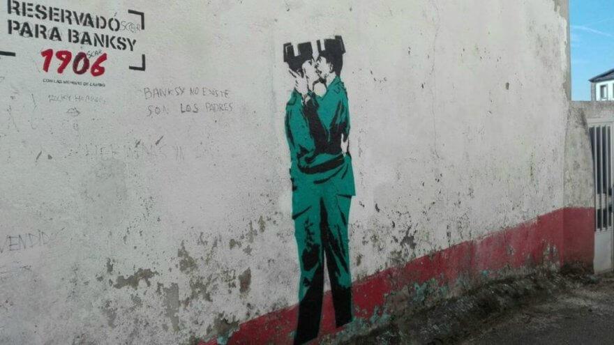 ¿Banksy llegó a España?