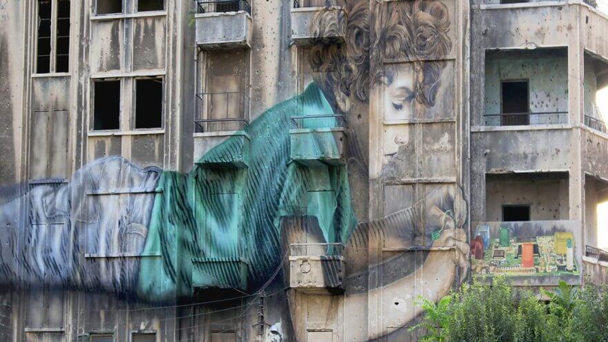 Conoce el arte de las calles de Beirut