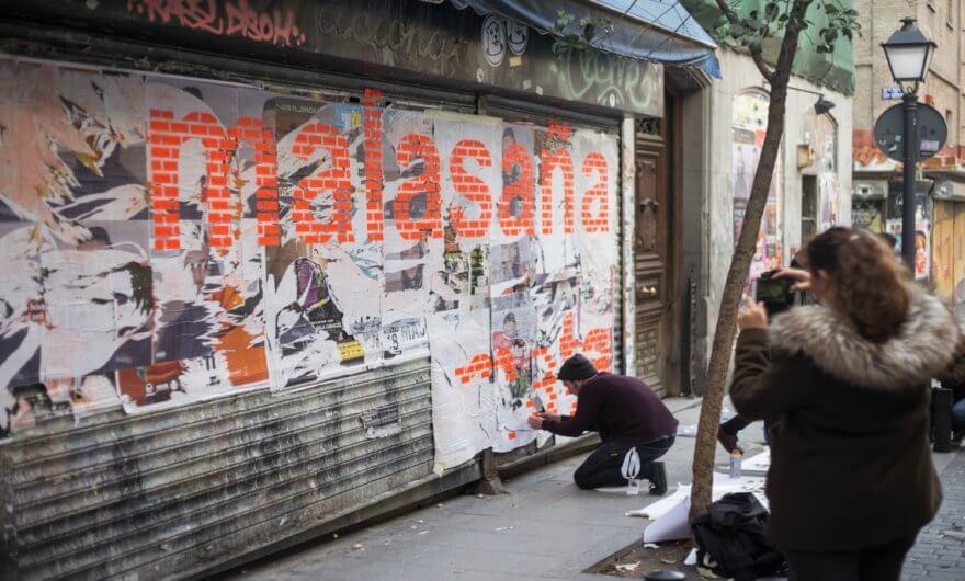Pinta Malasaña 2018: El Barrio se convierte en museo
