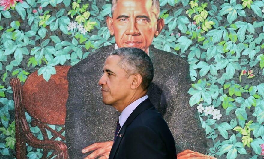 Record de visitantes para ver los retratos de los Obama en National Portrait Gallery