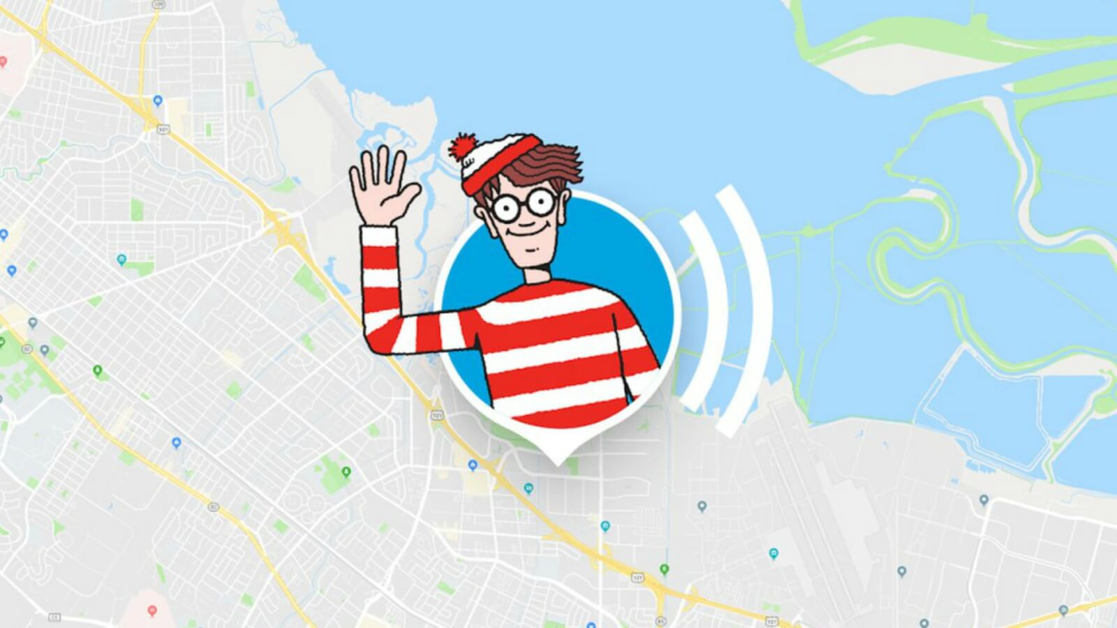Busca a Wally en Google Maps