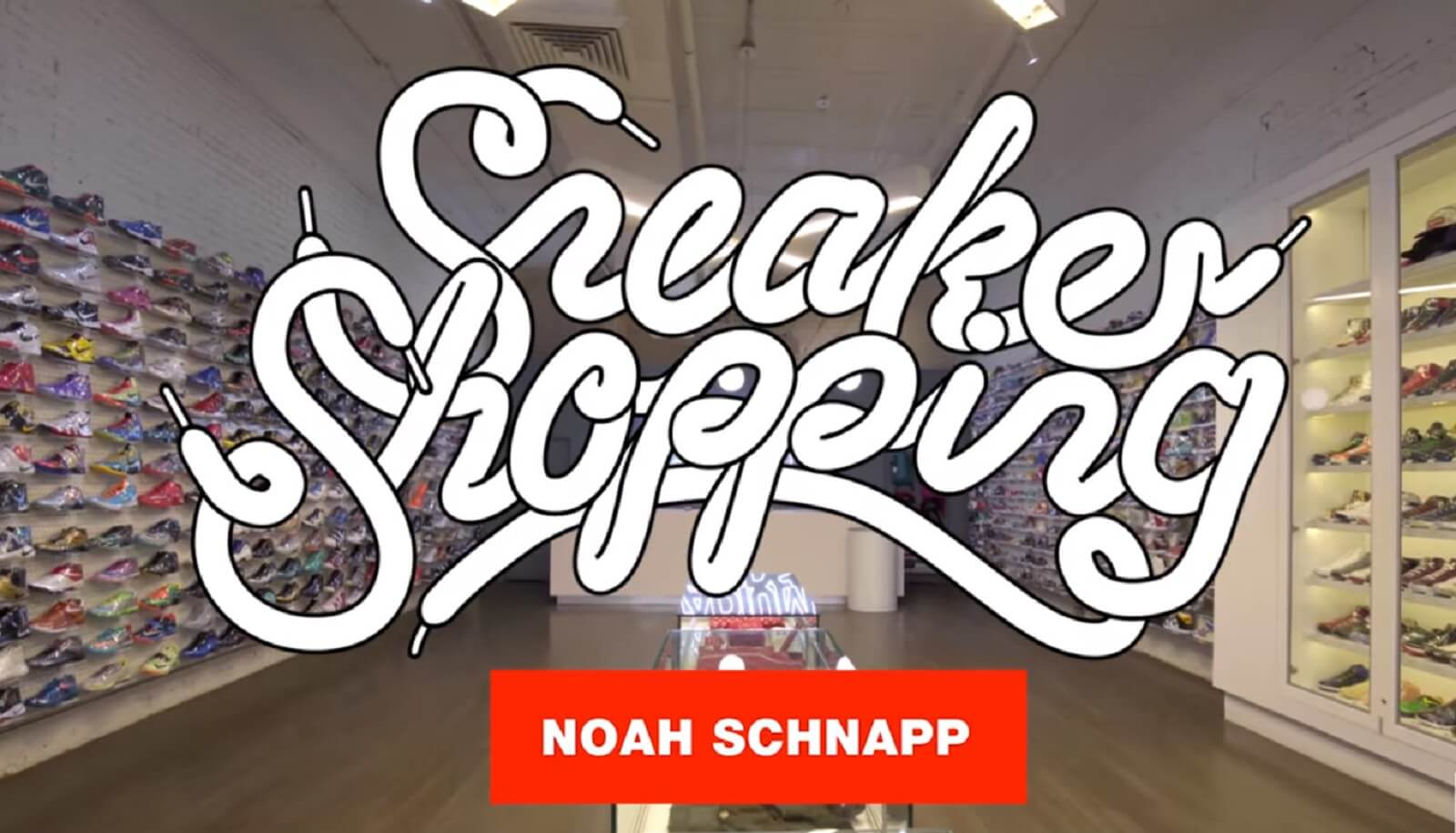 Stranger Things en Shooping Sneakers de Complex