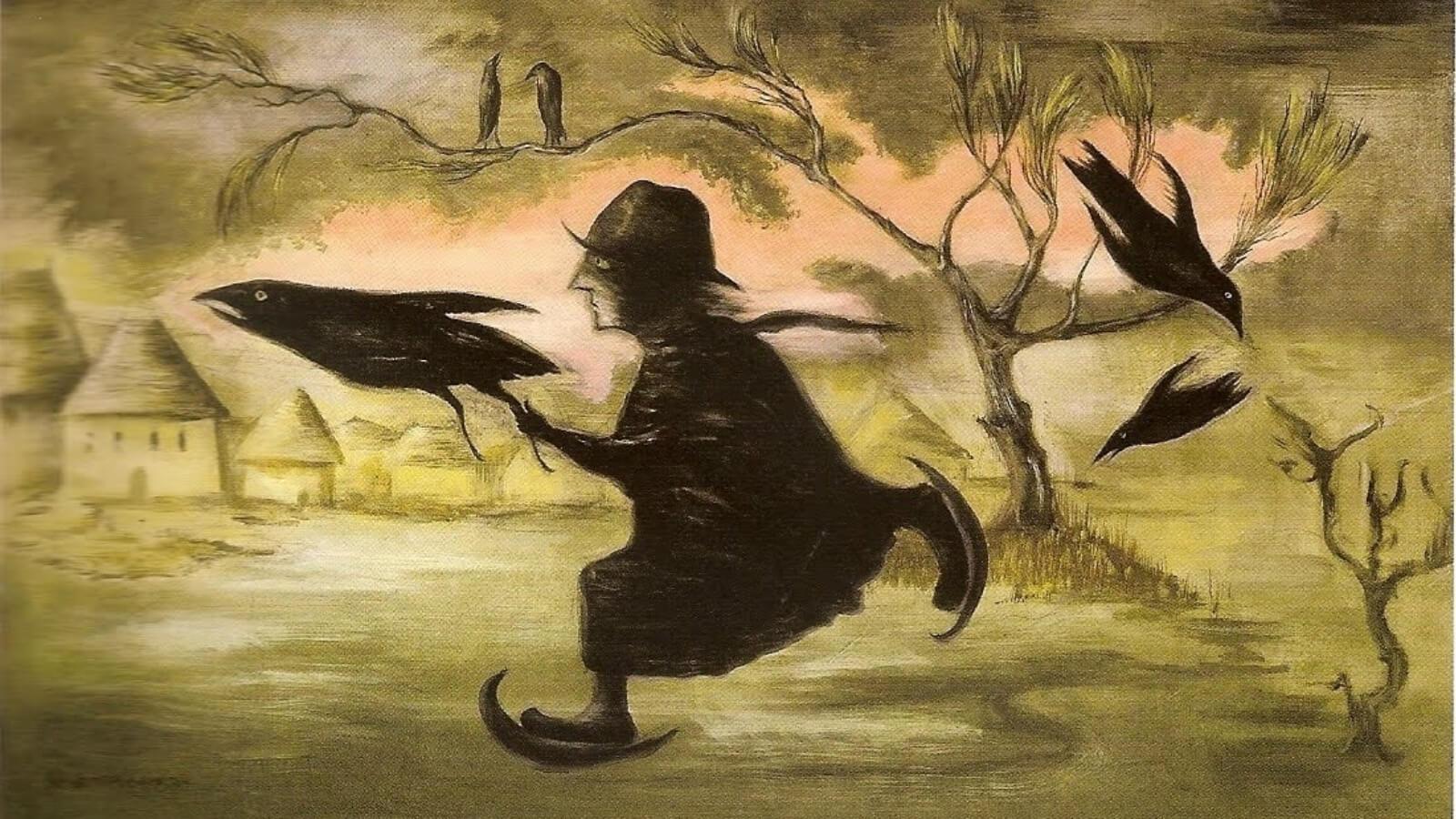 Pinturas de Leonora Carrington en GIFS