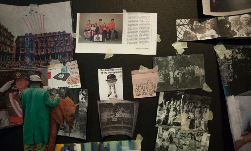 La exposición Recuerdos del Futuro, explorando el exilio Español