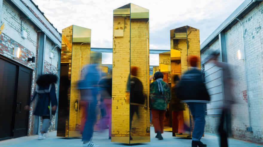 El Espíritu de la ciudad: La nueva instalación site specific