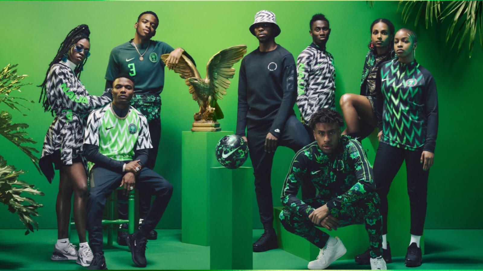 El jersey de Nigeria, más que fútbol
