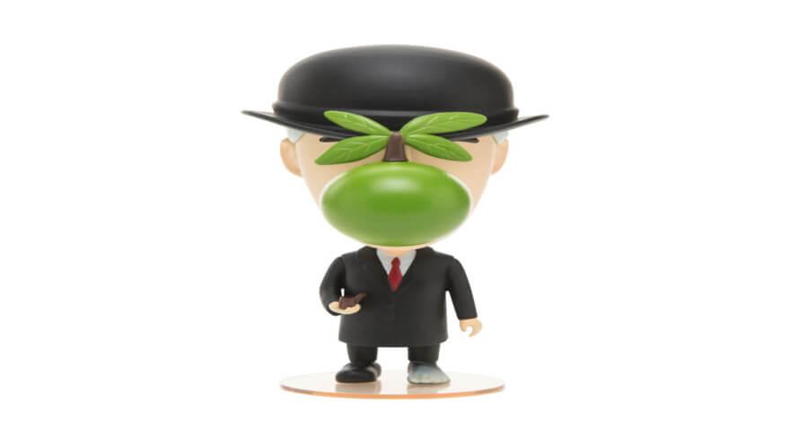 René Magritte tiene versión en miniatura