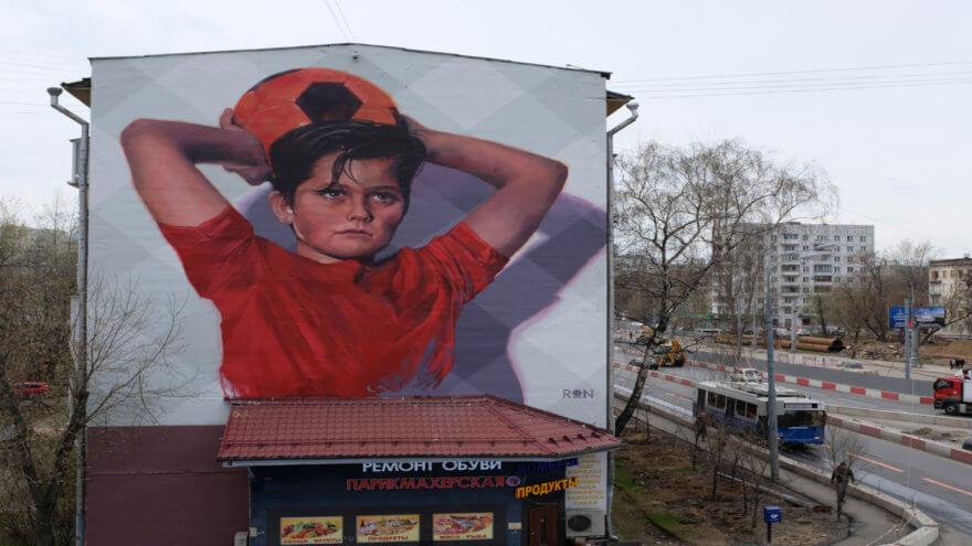 MOST el Street Art Festival de Moscú
