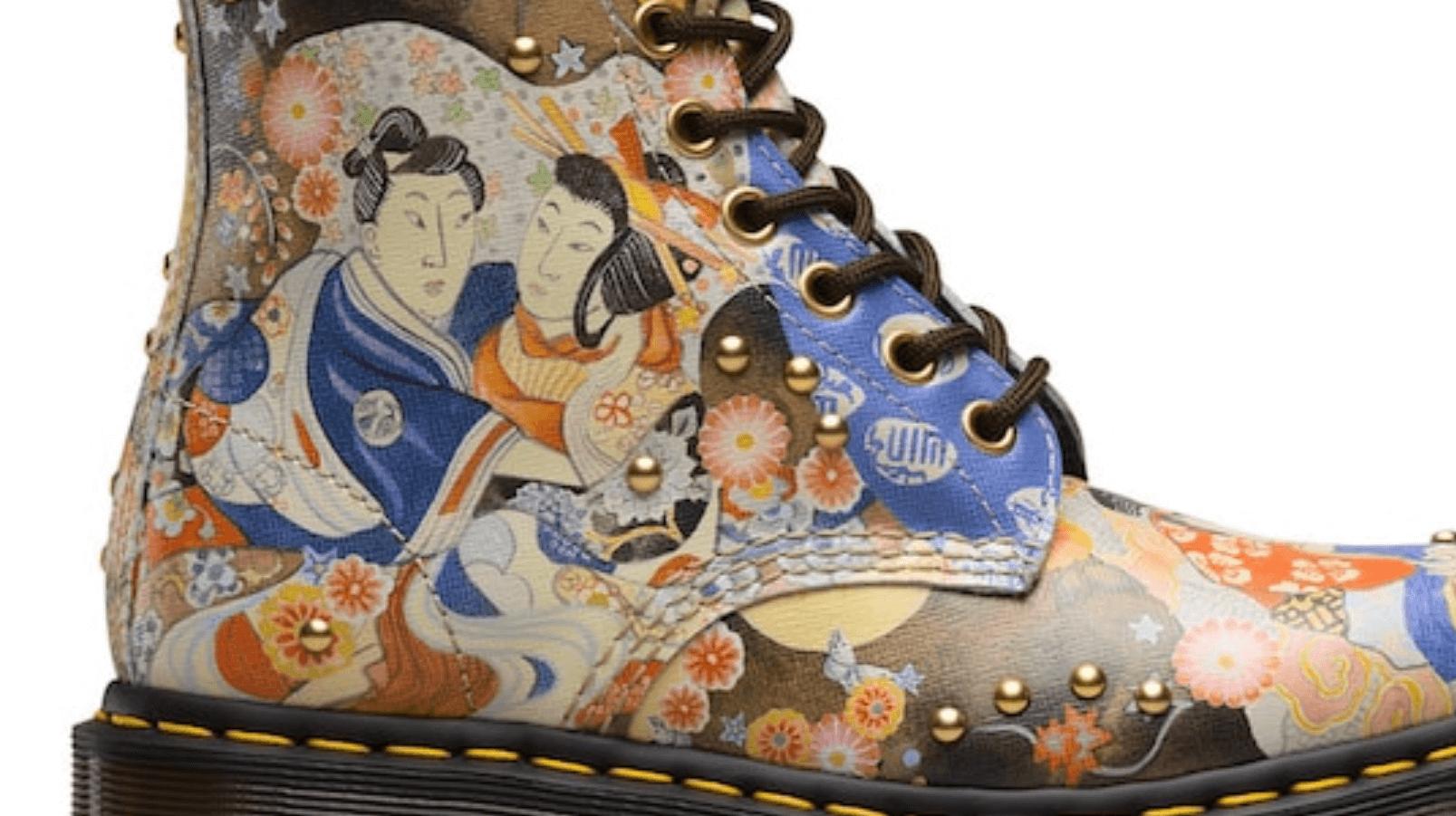 Dr. Martens se cubre del Arte Clásico Japonés