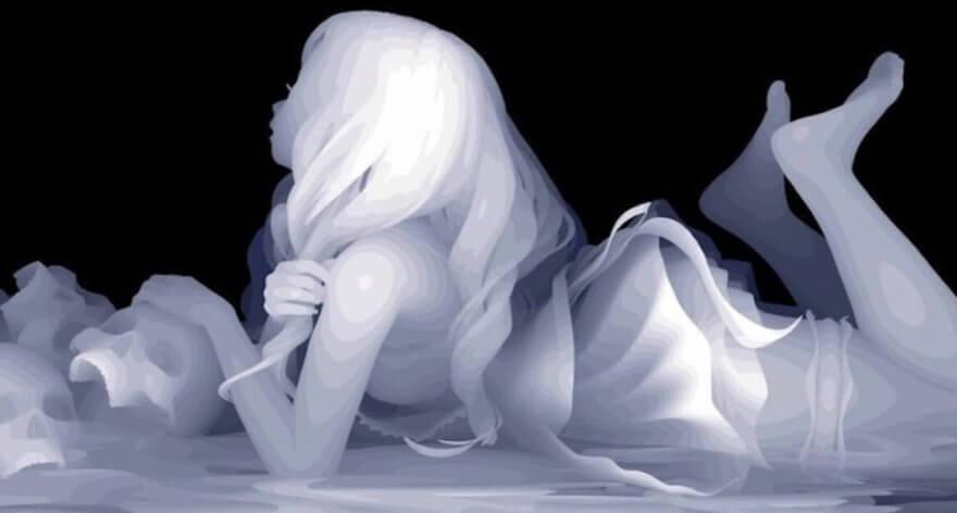 """Kazuki Takamatsu y su arte basado en el """"depth mapping"""""""