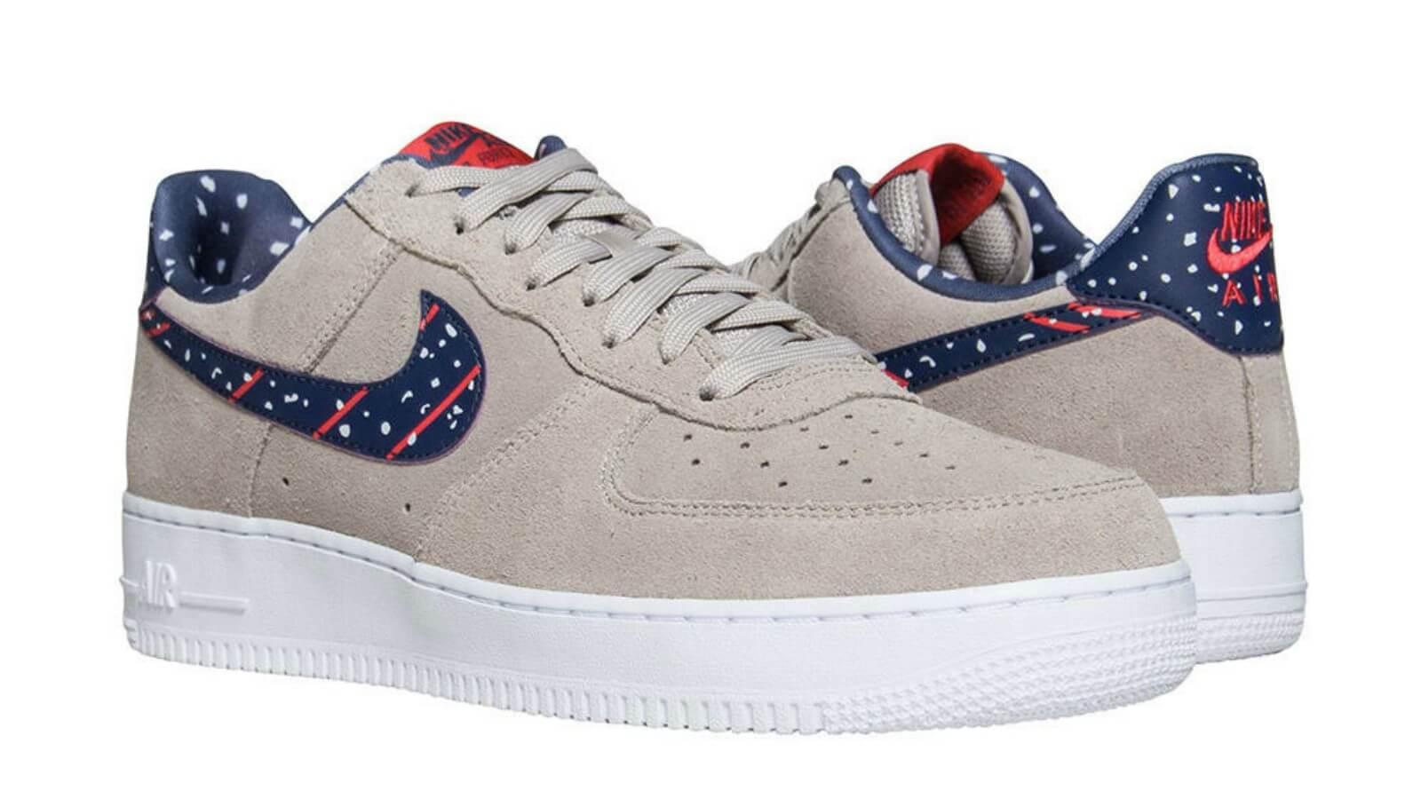 Los Nike Air Huarache y Air Force 1 Low NASA