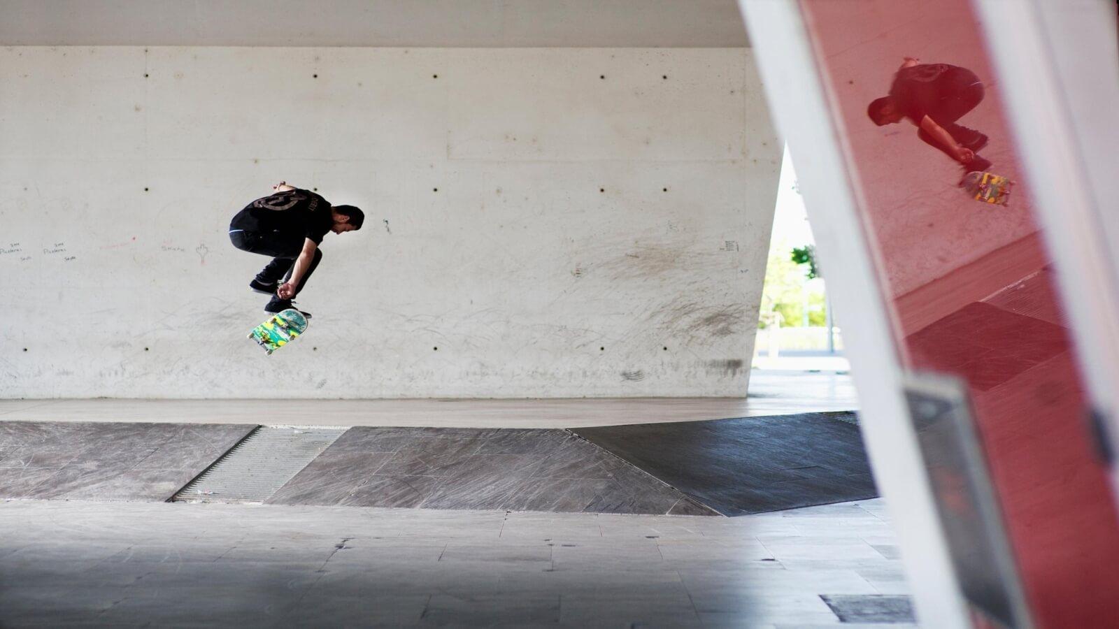 Esteban Velarde el creador en fotografía skate