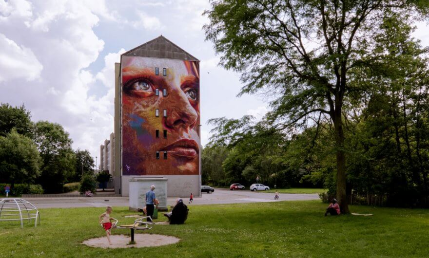Festival Kaleidoscope, arte urbano en Bélgica