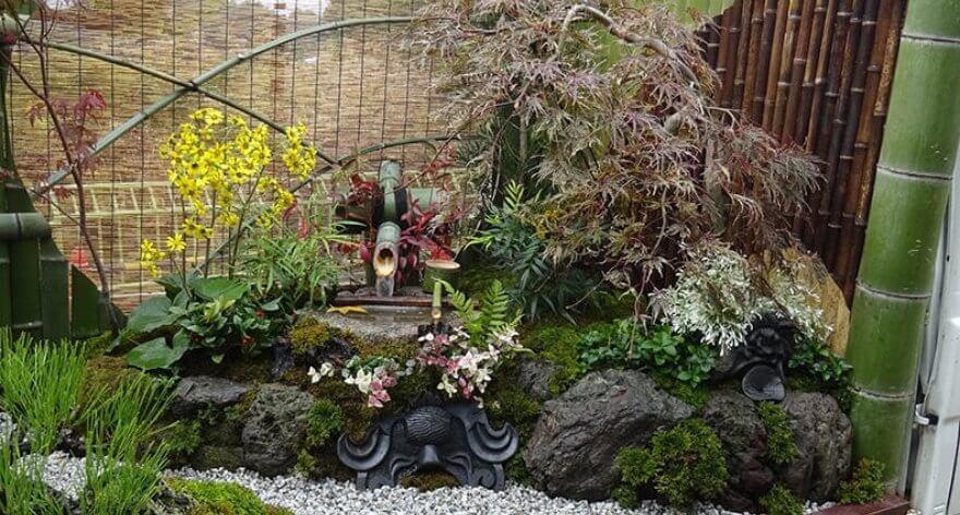 Kei Tuck Garden el concurso anual en Japón