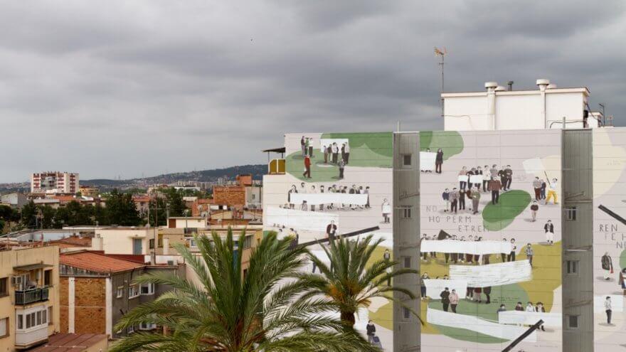 «La Plaza es nuestra» por Escif