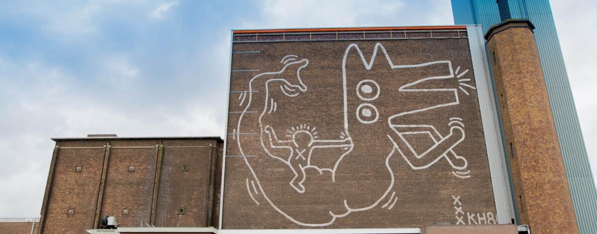 Keith Haring y su mural oculto en Ámsterdam